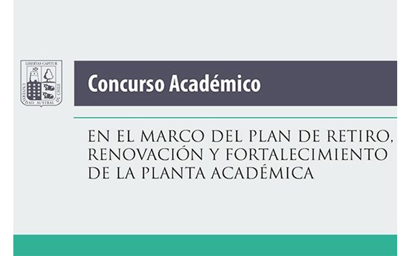 Llamado a concurso académico para integrarse a las Facultades de Ciencias Agrarias; Medicina; Ciencias Económicas y Administrativas; Ciencias, y Ciencias de la Ingeniería